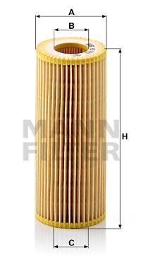 Filtre a huile de boite de vitesse MANN-FILTER HU 721 y (X1)