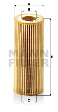 Filtre a huile de boite de vitesse MANN-FILTER HU 721 z KIT (X1)