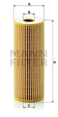 Filtre a huile MANN-FILTER HU 727/1 x (X1)