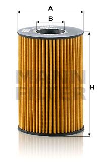 Filtre a huile MANN-FILTER HU 8007 z (X1)