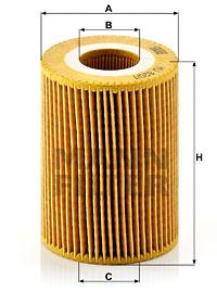 Filtre a huile MANN-FILTER HU 820/1 y (X1)