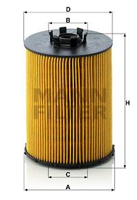 Filtre a huile MANN-FILTER HU 823 x (X1)