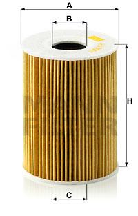 Filtre a huile MANN-FILTER HU 9001 x (X1)