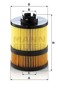 Filtre a huile MANN-FILTER HU 9002 z (X1)