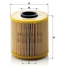 Filtre a huile MANN-FILTER HU 921 x (X1)