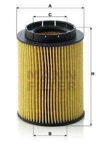 Filtre a huile MANN-FILTER HU 932/6 n (X1)