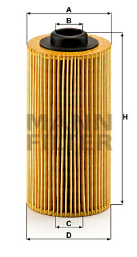 Filtre a huile MANN-FILTER HU 938/4 x (X1)