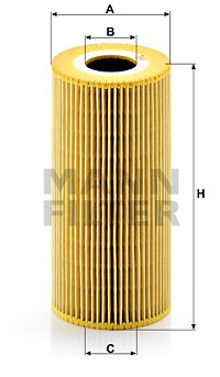 Filtre a huile MANN-FILTER HU 951 x (X1)