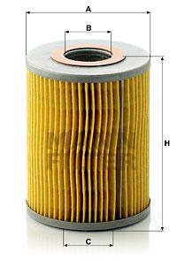 Filtre a huile MANN-FILTER H 1038 x (X1)