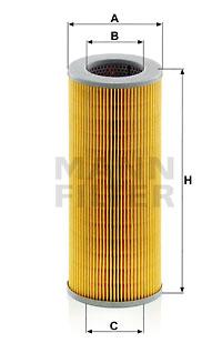 Filtre a huile de boite de vitesse MANN-FILTER H 1059/2 (X1)