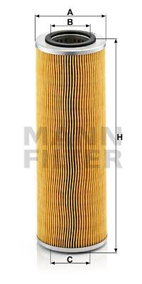 Filtration MANN-FILTER H 1075/1 x (X1)