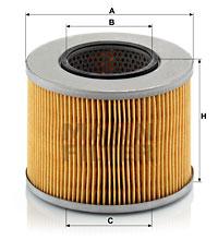 Filtre a huile de boite de vitesse MANN-FILTER H 1232 (X1)