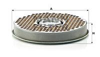 Filtre a huile de boite de vitesse MANN-FILTER H 2037 KIT (X1)
