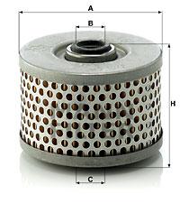 Filtre a huile de circuit hydraulique MANN-FILTER H 910/2 (X1)