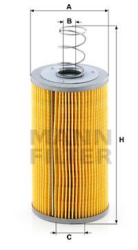 Filtre a huile de boite de vitesse MANN-FILTER H 941/2 x (X1)