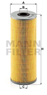 Filtre a huile MANN-FILTER H 973 x (X1)