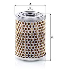 Filtre a huile de circuit hydraulique MANN-FILTER H 985 (X1)