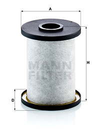 Autres filtres MANN-FILTER LC 10 005 x (X1)