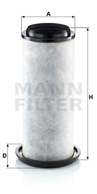 Autres filtres MANN-FILTER LC 20 001 x (X1)