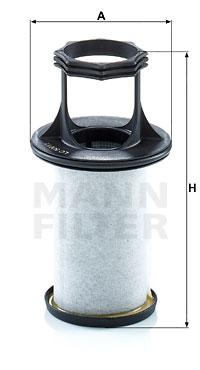 Autres filtres MANN-FILTER LC 5001/1 x (X1)
