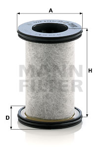 Autres filtres MANN-FILTER LC 7201 x (X1)