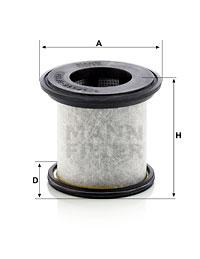Autres filtres MANN-FILTER LC 8100 (X1)