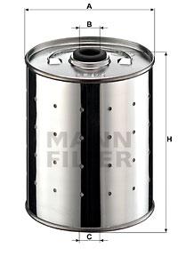 Filtre a huile MANN-FILTER PF 915 n (X1)