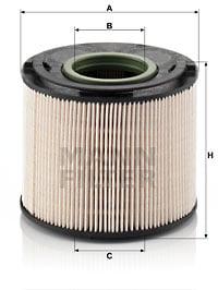 Filtre a carburant MANN-FILTER PU 1033 x (X1)