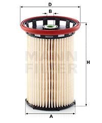Filtre a carburant MANN-FILTER PU 8007 (X1)