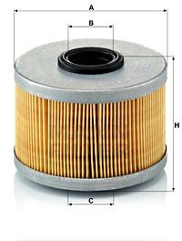 Filtre a carburant MANN-FILTER P 716/1 x (X1)
