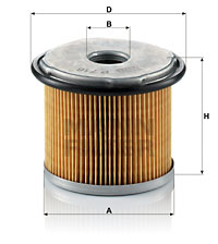 Filtre a carburant MANN-FILTER P 716 (X1)