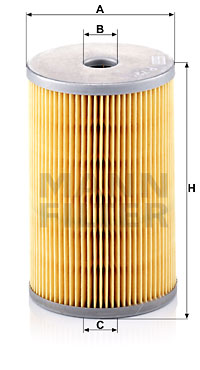 Filtre a carburant MANN-FILTER P 725 x (X1)