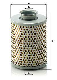 Filtre a huile de circuit hydraulique MANN-FILTER P 919/7 (X1)