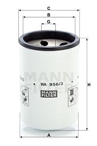 Autres filtres MANN-FILTER WA 956/3 (X1)