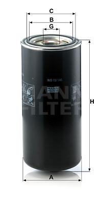 Filtration MANN-FILTER WD 13 145 (X1)
