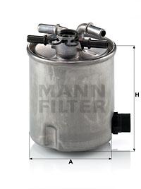 Filtre a carburant MANN-FILTER WK 9007 (X1)