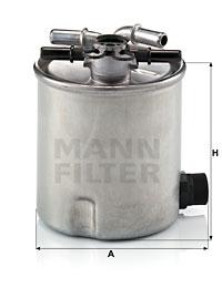 Filtre a carburant MANN-FILTER WK 9008 (X1)
