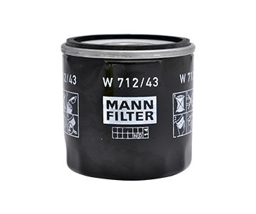 Filtre a huile MANN-FILTER W 712/43 (X1)