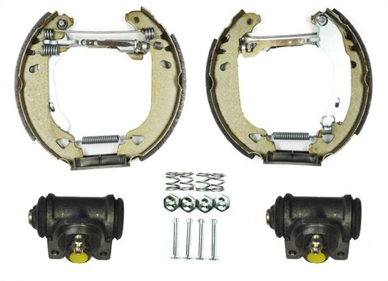 kit de frein arrière simple ou prémonté RAICAM 7046RP (Jeu de 4)