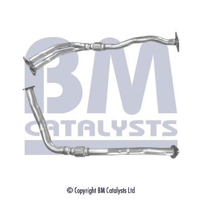 Tube d'echappement BM CATALYSTS BM70097 (X1)
