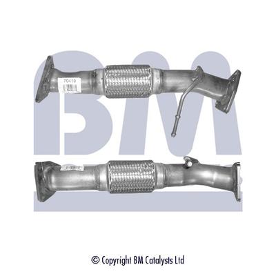 Tube d'echappement BM CATALYSTS BM70419 (X1)