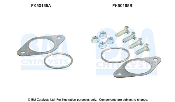 Kit de montage d'echappement BM CATALYSTS FK50165 (X1)