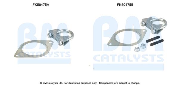 Kit de montage d'echappement BM CATALYSTS FK50475 (X1)
