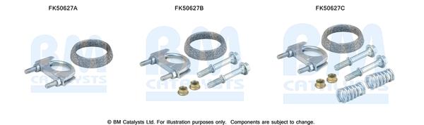 Kit de montage d'echappement BM CATALYSTS FK50627 (X1)