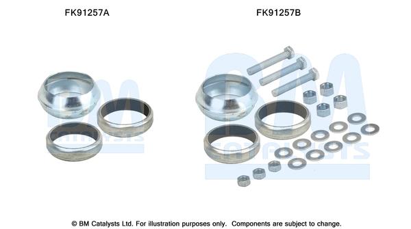 Kit de montage d'echappement BM CATALYSTS FK91257 (X1)