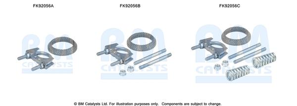 Kit de montage d'echappement BM CATALYSTS FK92056 (X1)
