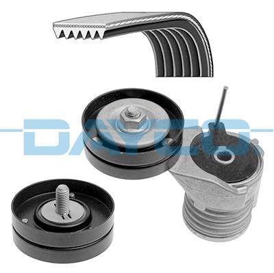 Kit de courroie d'accessoire DAYCO KPV330 (X1)