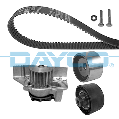 Kit distribution + pompe a eau DAYCO KTBWP1653 (X1)