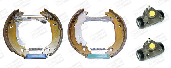 kit de frein arrière simple ou prémonté CHAMPION 381219CH (Jeu de 4)