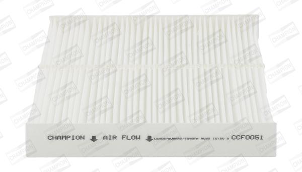 Filtre d'habitacle CHAMPION CCF0051 (X1)